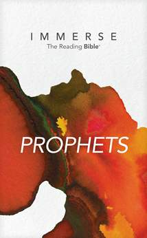 Immerse: Prophets: Softcover