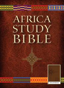 Africa Study Bible, NLT: LeatherLike, Tan