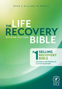 NLT Life Recovery Bible, Second Edition: Hardcover