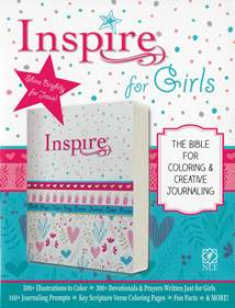 Inspire Bible for Girls NLT: Softcover