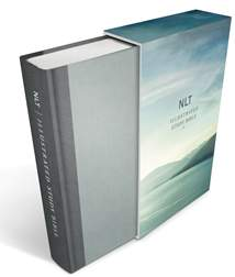 Illustrated Study Bible NLT Deluxe: Hardcover, Gray Deluxe Linen Edition