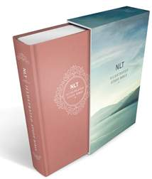 Illustrated Study Bible NLT Deluxe: Hardcover Deluxe Linen Edition