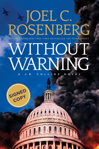 Without Warning Special Autographed Edition: Autographed Hardcover