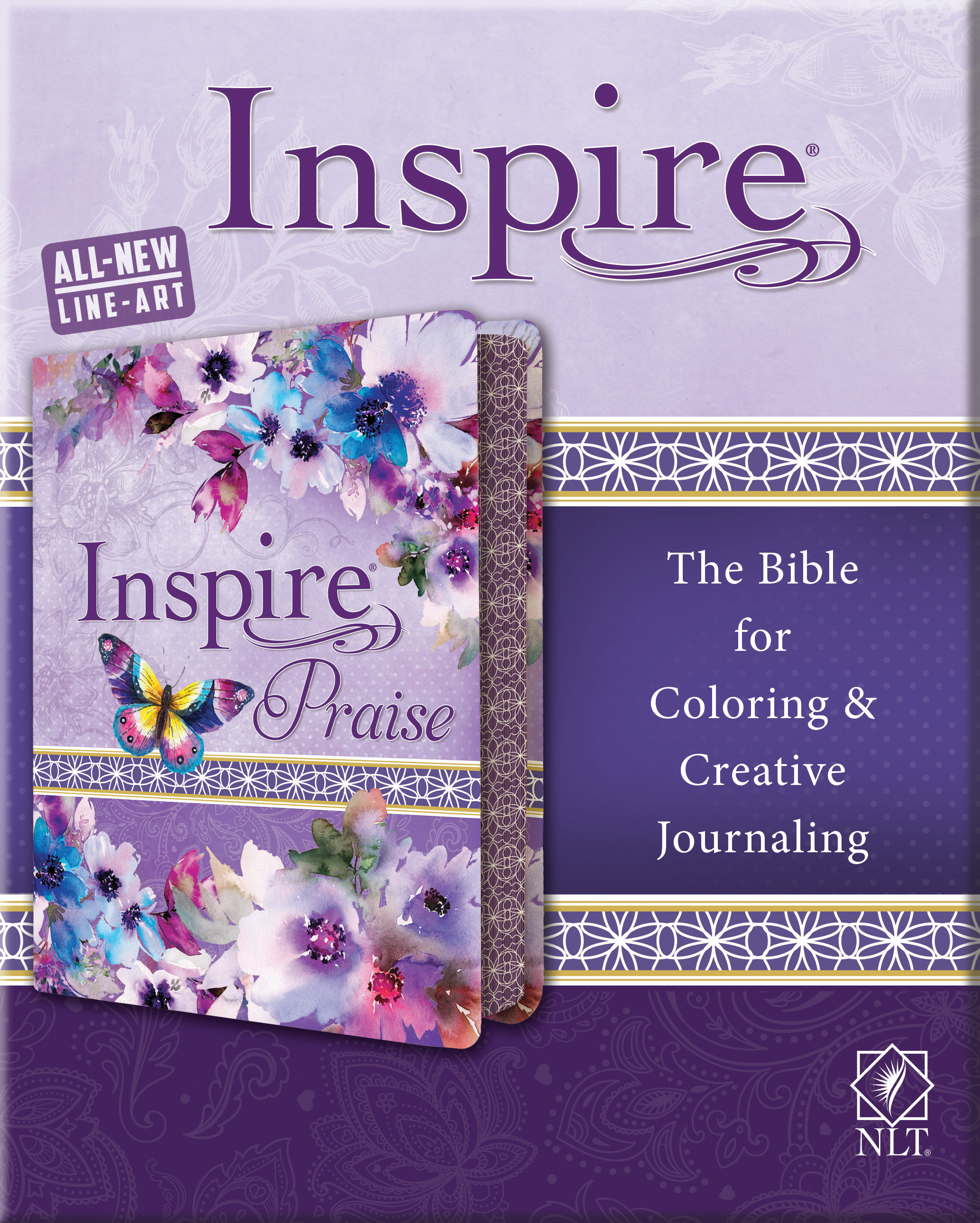 Inspire Bible The Bible For Coloring And Creative Journaling