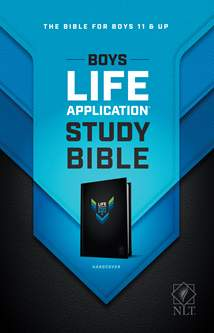 NLT Boys Life Application Study Bible: Hardcover