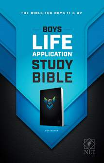 NLT Boys Life Application Study Bible: Softcover