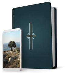 Filament Bible NLT: Hardcover Cloth, Midnight Blue