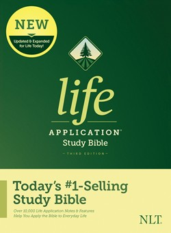Front cover image of the third edition of the very popular Life Application Bible. This Bible helps readers to seek and understand God's truth, and how it applies to their own life.