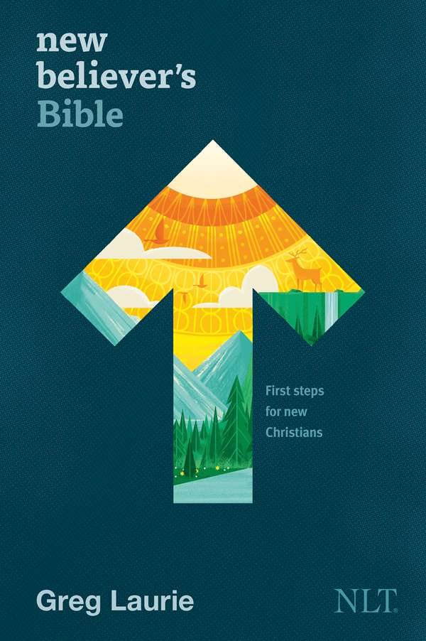 Cover of the New Believer's Bible, Hardcover, by Tyndale House Publishers