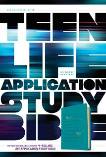 NLT Teen Life Application Study Bible: LeatherLike, Teal