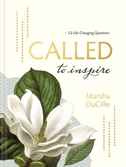 Front cover image of Called to Inspire, a beautiful devotional journal perfect as a gift for any new believer!