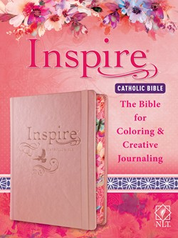 Inspire Catholic Bible | Review | Blogmas  #catholic #blogmas #bible #coloring