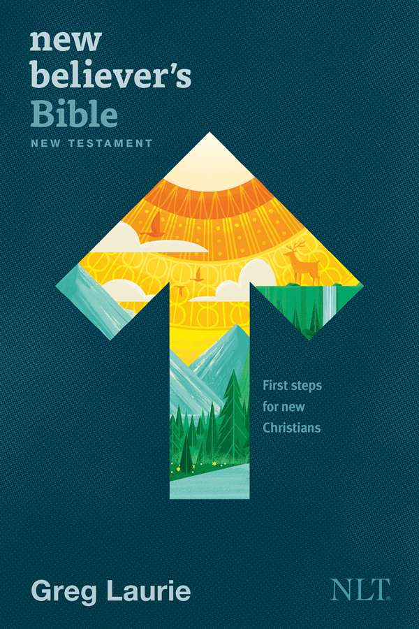 Cover of the New Believer's Bible New Testament, by Tyndale House Publishers