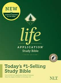NLT Life Application Study Bible, Third Edition: Hardcover, Indexed