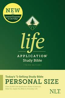 NLT Life Application Study Bible, Third Edition, Personal Size: Softcover