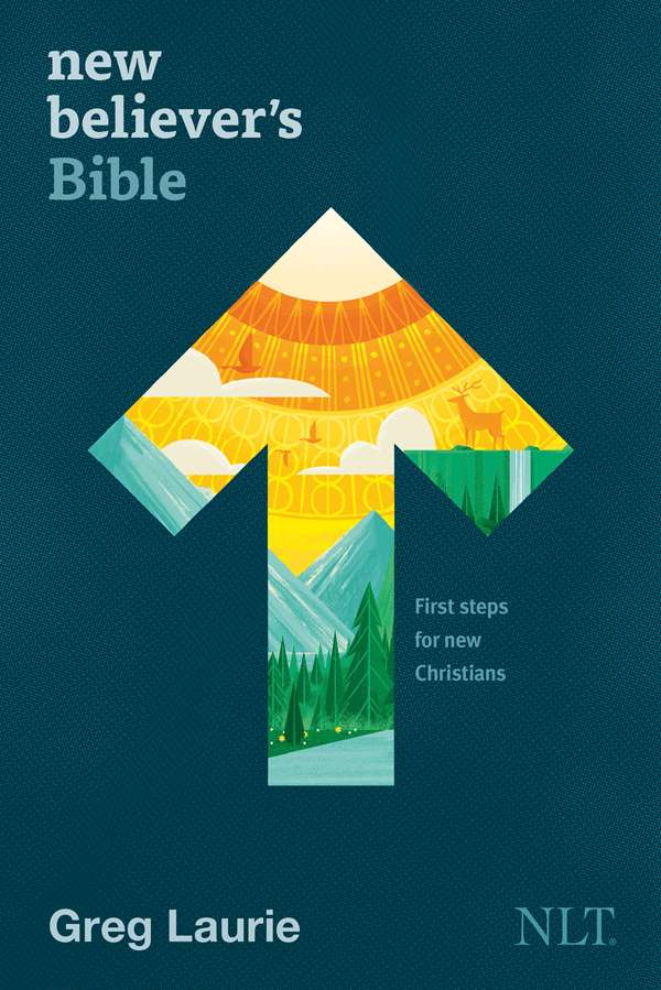 Cover of the New Believer's Bible, Softcover, by Tyndale House Publishers