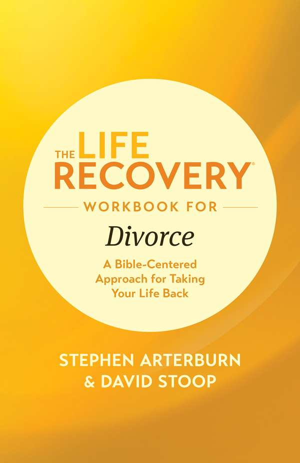 Cover of the book, The Life Recovery Workbook for Divorce, by Tyndale House Publishers