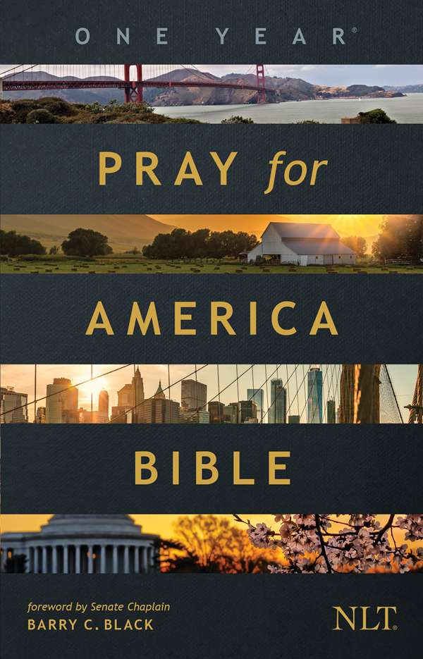 Cover of The One Year Pray for America Bible by Tyndale House Publishers