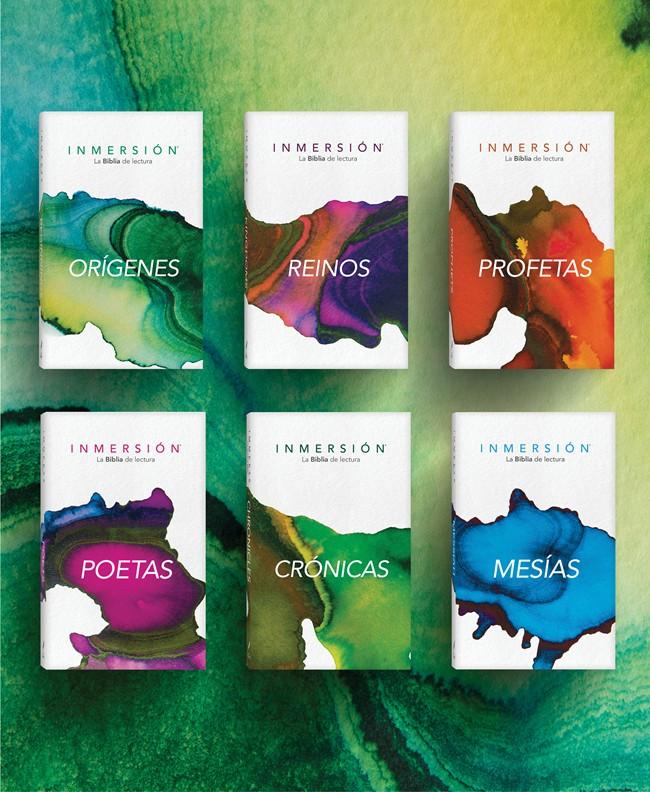 Cover of Biblia Inmersión: Conjunto completo