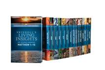 Swindoll's Living Insights New Testament Complete Set: Hardcover