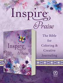 Inspire PRAISE Bible NLT: Softcover