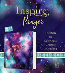Inspire PRAYER Bible NLT: Softcover