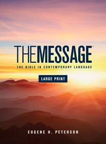 The Message Large Print: Hardcover