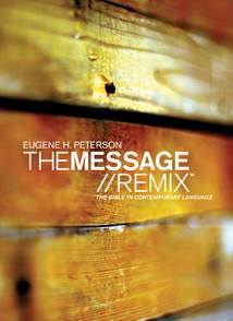 The Message//REMIX: Hardcover, Wood