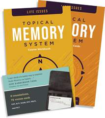 Topical Memory System: Life Issues: Softcover