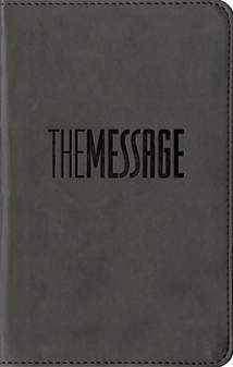 The Message Compact: Leather-Look, Graphite
