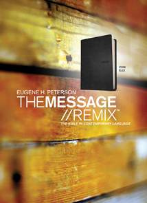 The Message//REMIX: Leather-Look, Black
