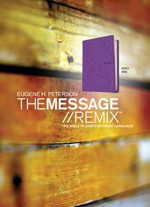 The Message//REMIX: Leather-Look, Purple