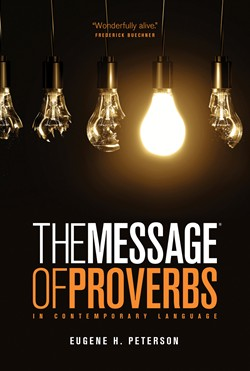 Front cover image of the booklet The Message of Proverbs.