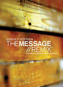 The Message//REMIX: Softcover, Wood