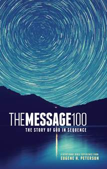 The Message 100 Devotional Bible: Softcover