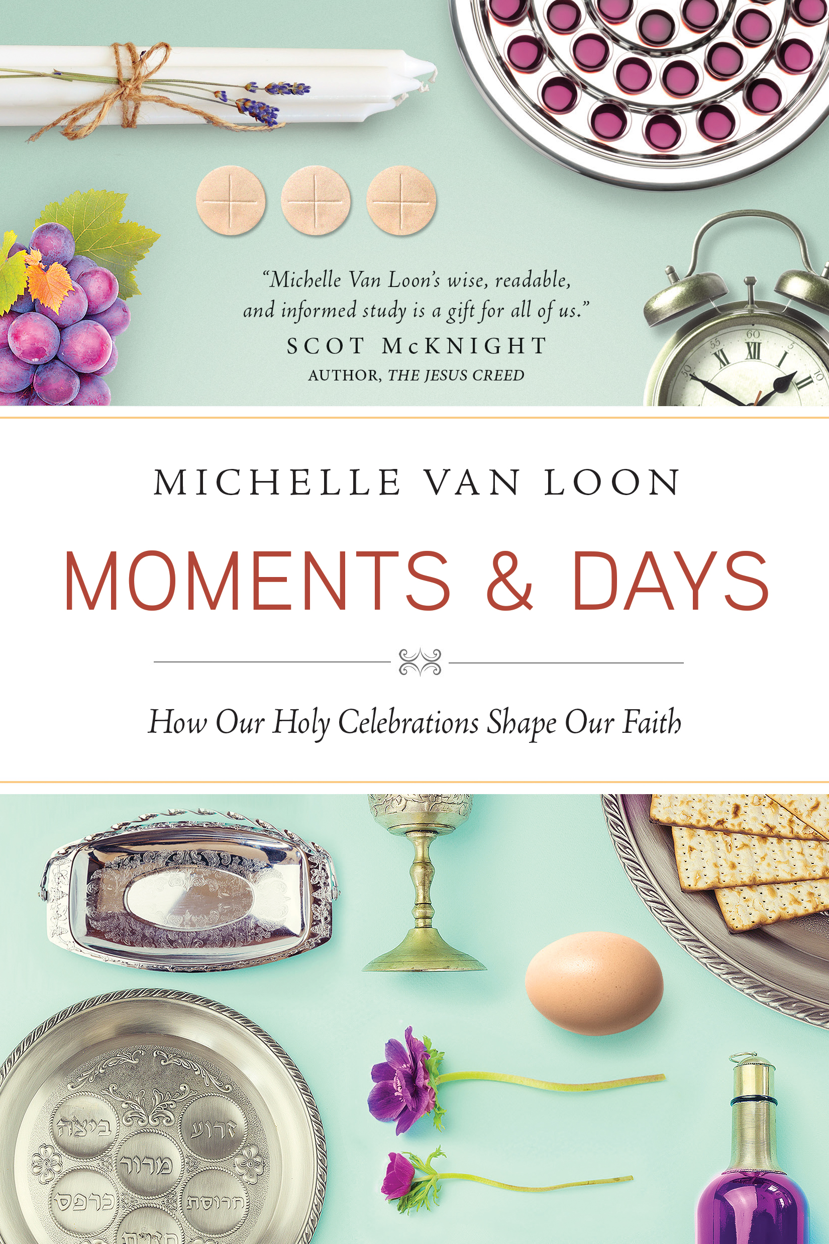 Cover of Moments and Days, by Michelle Van Loon