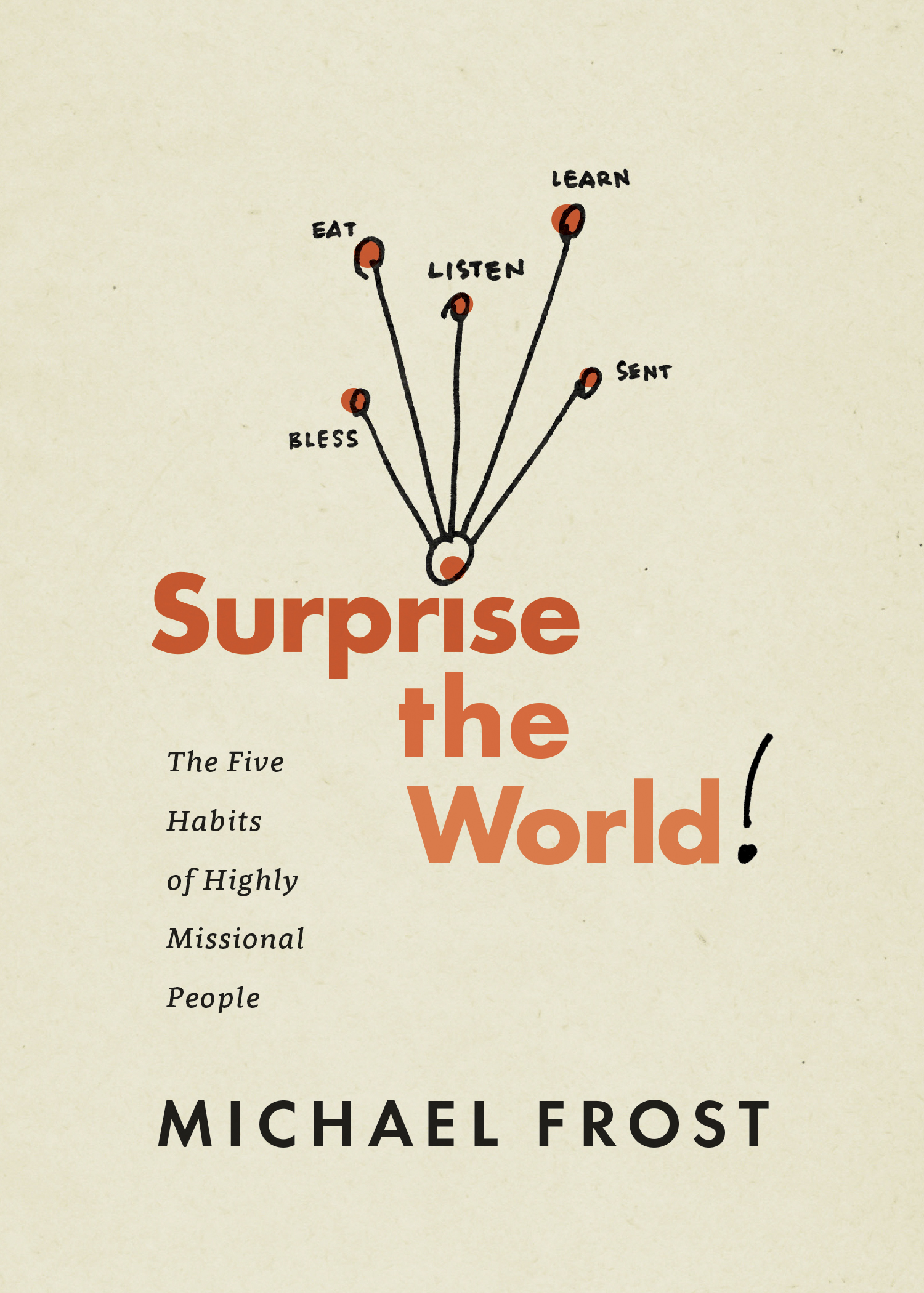 Cover of Surprise the World, by Michael Frost