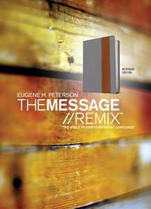 The Message//REMIX: Leather-Look, Grey/Tan