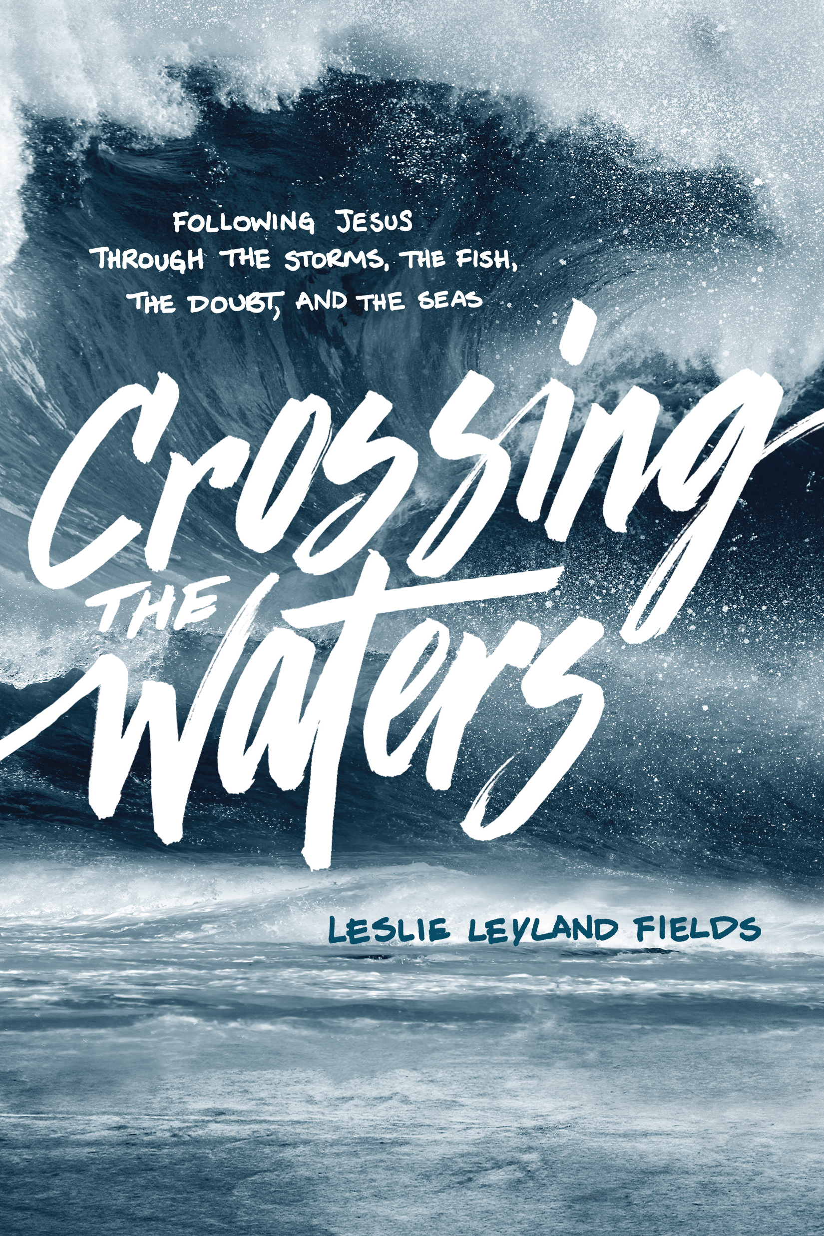 Cover of Crossing the Waters, by Leslie Leyland Fields