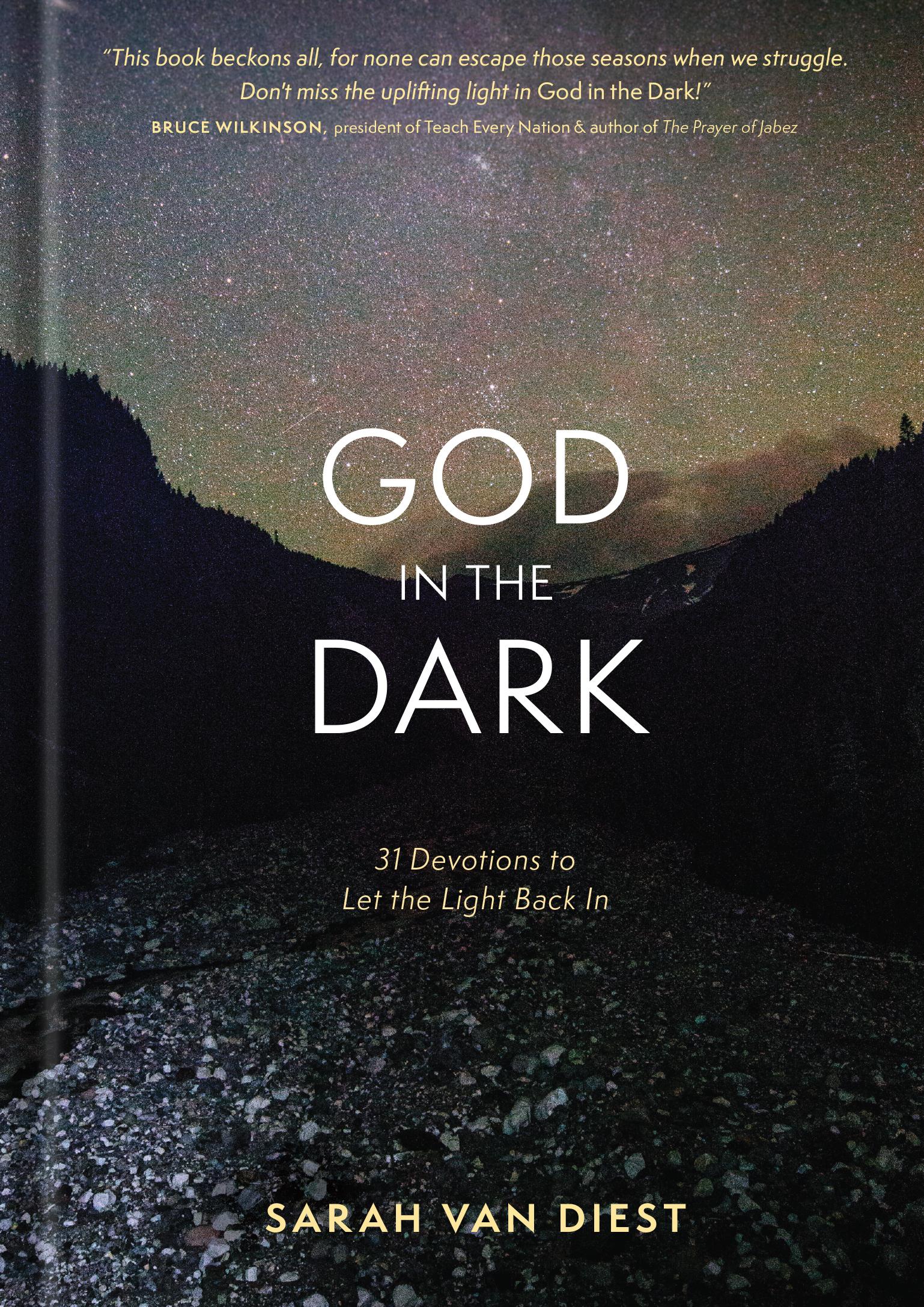 Cover of God in the Dark, by Sarah Van Diest