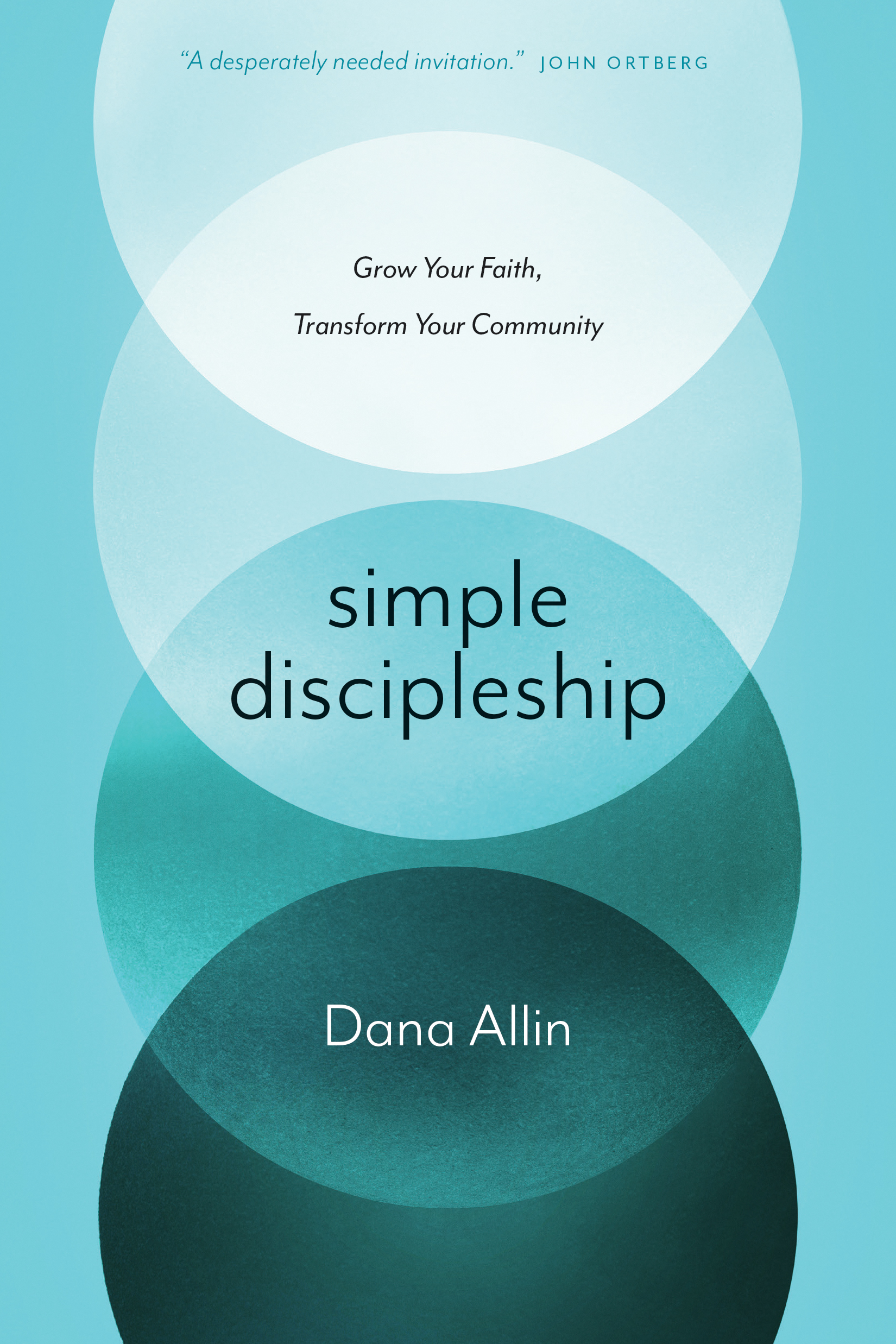 Cover of Simple Discipleship, by Dana Allin