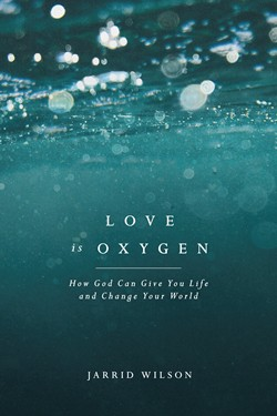 Front cover of the book Love is Oxygen.