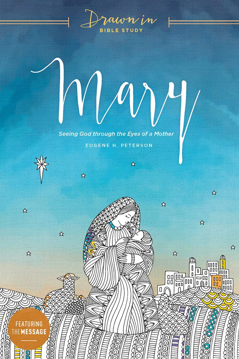 Drawn In: Mary, book cover