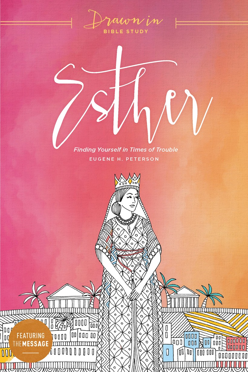 Drawn In: Esther, book cover