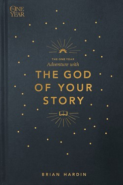 Front cover image of the devotional book, The One Year Adventure with The God of Your Story.