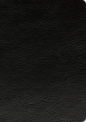 Cover image of Swindoll Study Bible LeatherLike, Black binding